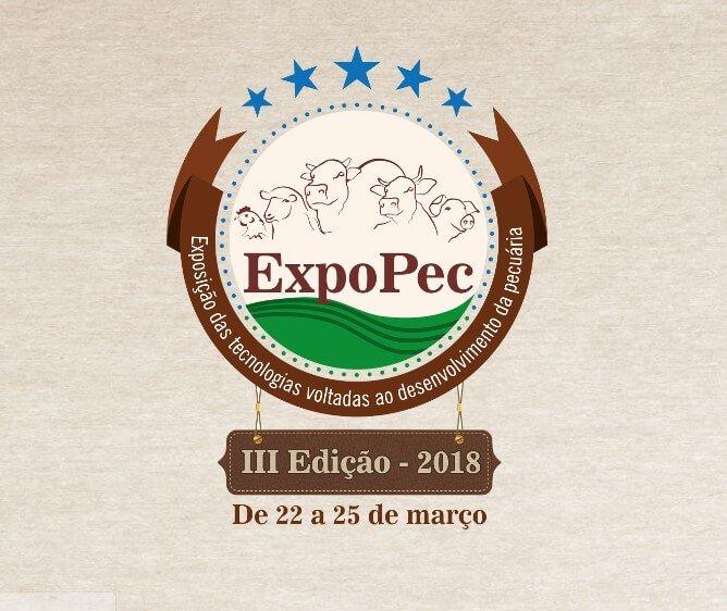 J.A presente na ExpoPec 2018 em Porangatu (GO) – Exposição das Tecnologias Voltadas ao Desenvolvimento da Pecuária.