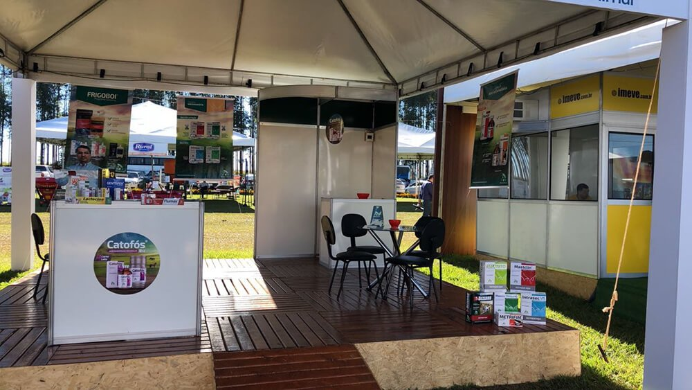 A J.A Saúde Animal esteve presente na 8ª edição da Agrotecnoleite Complem, realizada entre os dias 23 e 25 de maio no município de Morrinhos (GO).